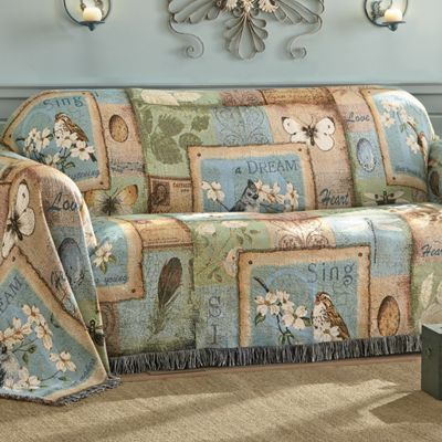 Sweet Inspiration Woven Tapestry Throw