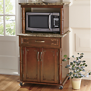 canova microwave cart
