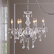 Silver Crystal Pendant Lamp