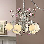 Blushing Rose Pendant Lamp