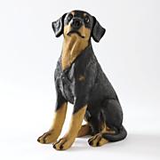 leopold dog statue