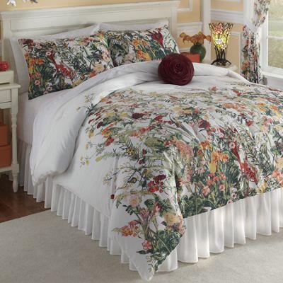 Botanical Comforter Set