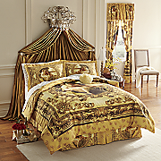 Eternal Love Comforter Set, Window Treatments & Shower Curtain