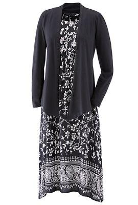 2-Piece Charice Dress and Cardigan Set