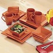 16 piece square dinnerware set 17