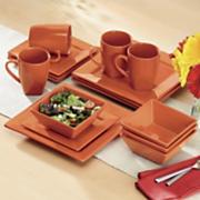 16-Piece Square Dinnerware Set