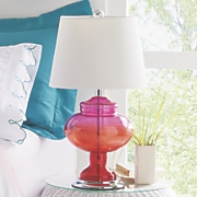 Ombre Glass Lamp