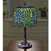 wisteria stained glass lamp 15
