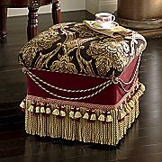 royal fringe ottoman