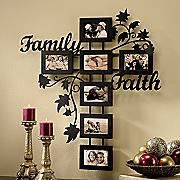 faith family tree frame