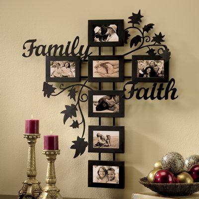 Faith & Family Tree Frame