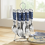 20-Piece Hanging Stainless Steel Flatware Set