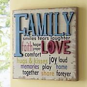 Love & Family Wall Art