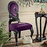 Purple Swirl Chair
