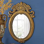 emma golden embellished mirror