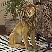 loyal lion statue