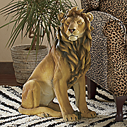 loyal lion statue