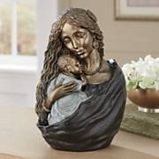 Mother and Babe Figurine