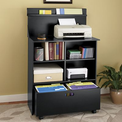 Efficiency Printer Stand With Storage From Montgomery Ward