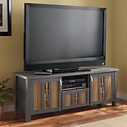 two tone woven tv stand by montgomery ward