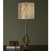 Embossed 3-D Lamp