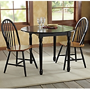 Farmhouse Drop Leaf Table and Arrowback Chairs