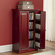 paneled media storage cabinet by montgomery ward