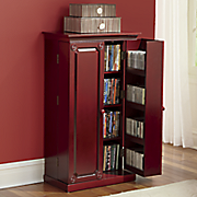 Paneled Media Storage Cabinet by Montgomery Ward ®