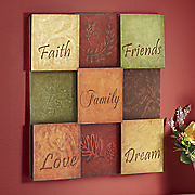 faith friends family art