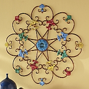 Colorful Fleur-De-Lis Wall Décor