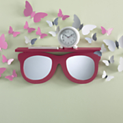sunglasses mirror shelf