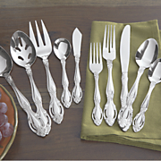 45 pc estate flatware set