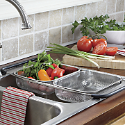 over the sink expandable strainer