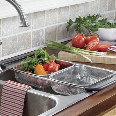 Over-The-Sink Expandable Strainer