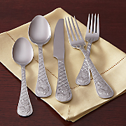 20-Piece Rooster Flatware Set