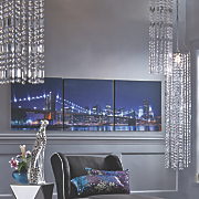 cascading chandelier
