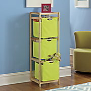 3 tier pullout storage station