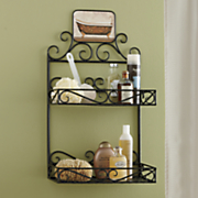 bathtub wall rack