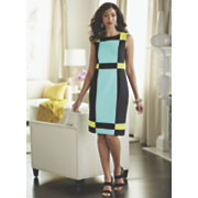 Lulu Bright Block Sheath