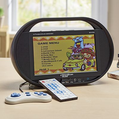 Sound Vision Portable DVD/CD Player