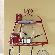 2-Tier Half-Moon Pot Rack