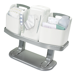 always ready diaper changing center caddy