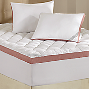 "Sleep Connection ® ""Your Way"" Mattress Topper and Pillows by Montgomery Ward"