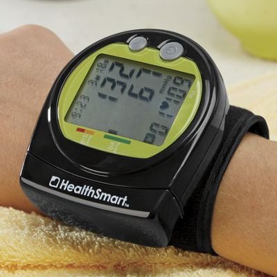 Digital Wrist Blood Pressure Monitor by HealthSmart
