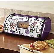 floral breadbox