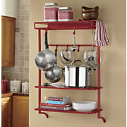 wall pot plate rack