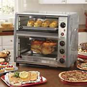 ginny s brand double decker toaster oven