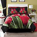 4-Piece Tulip Comforter Set