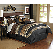 7-Piece Gazelle Bed Set and Window Treatments