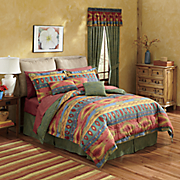 7-Piece Tucson Fiesta Bed Set and Window Treatments